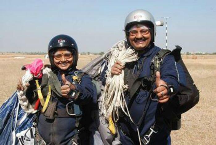 Dinesh and Tarakeshwari Rathod