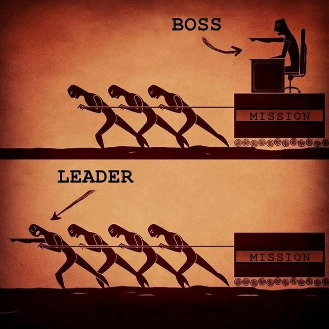 get leader