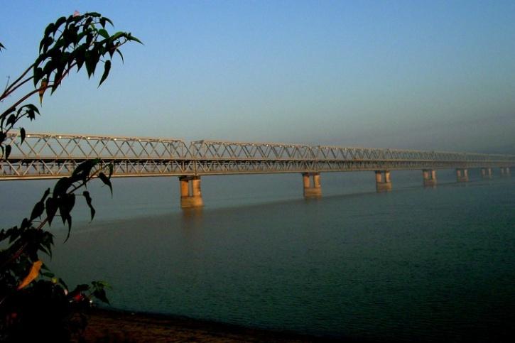 Bridge across Brahmaputra