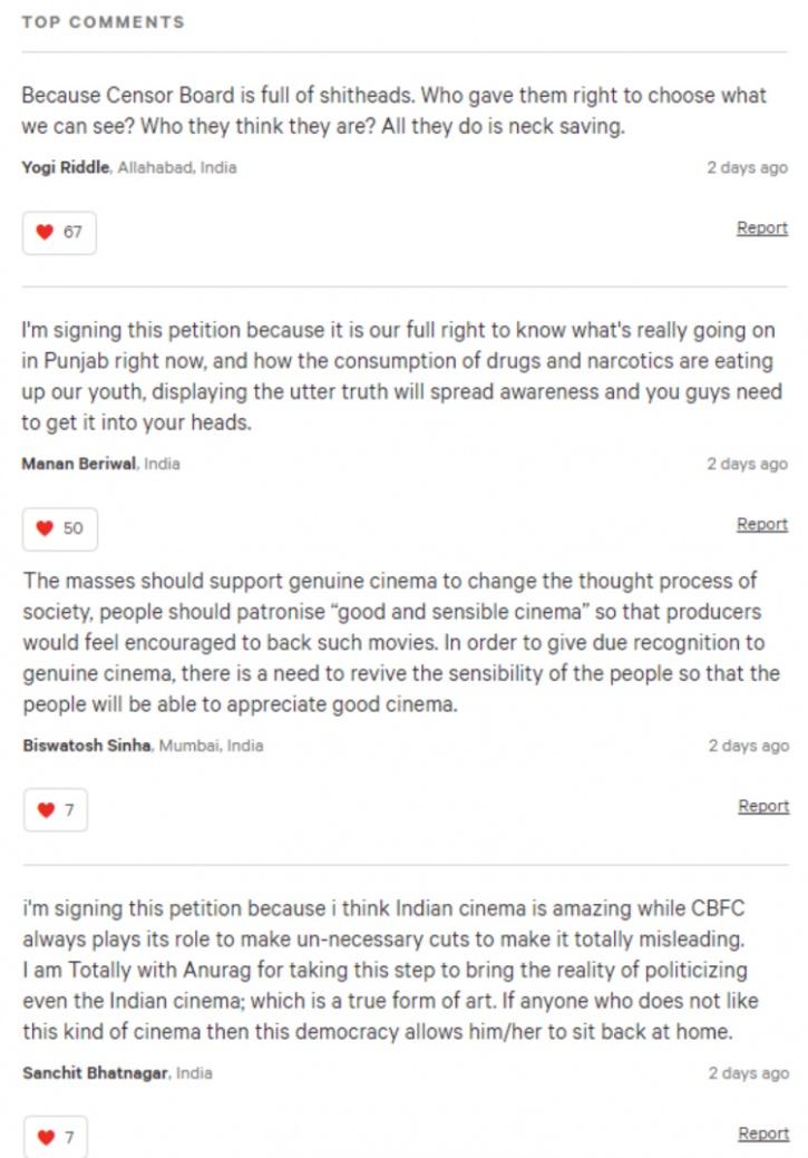 udta punjab petitions