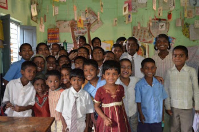 Byrapura village of Gajendragad village school