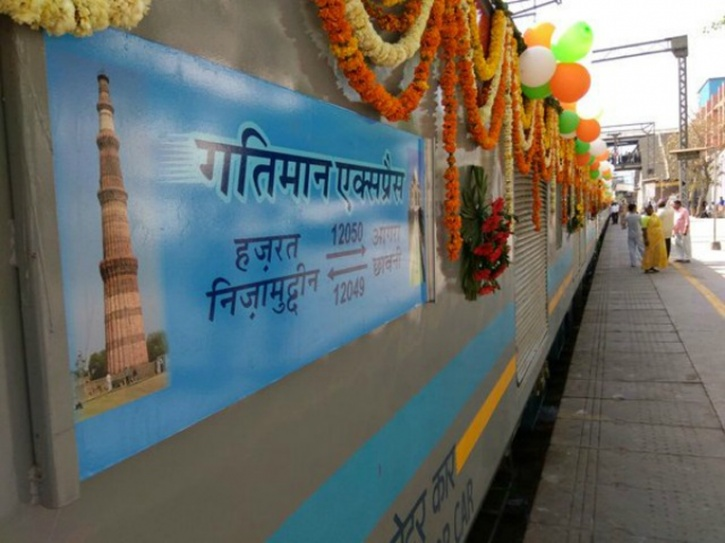 Gatimaan Express rams into dead end