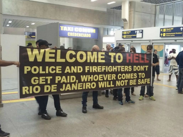 hell brazil sign