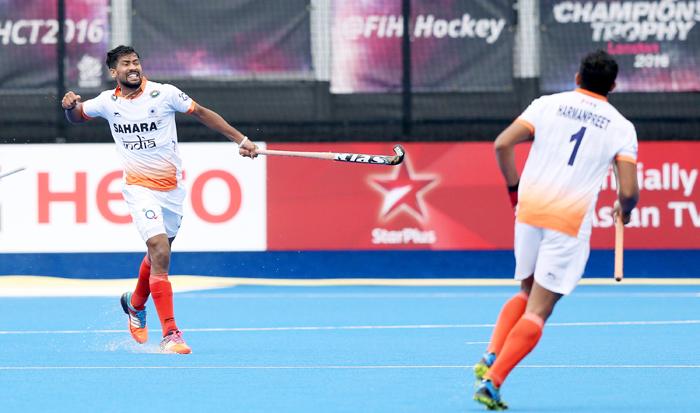 India player celebrate