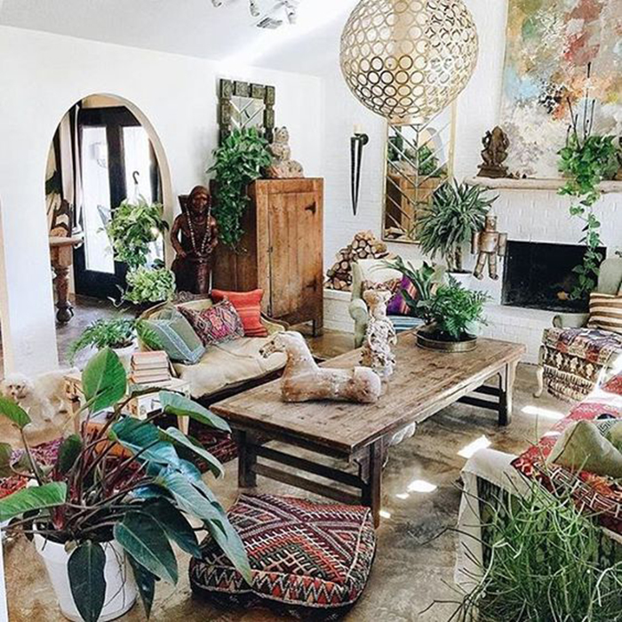 10 Simple Ways You Can Decorate A Bohemian Style Room On A Budget