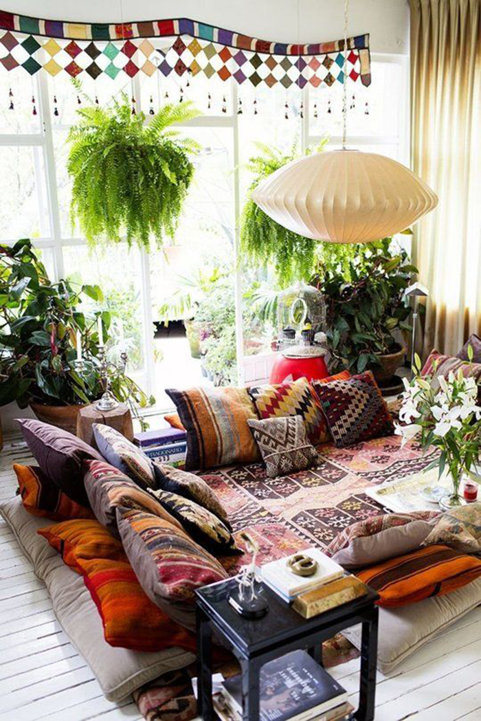 How To Decorate A Bohemian Style Room On A Budget