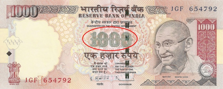 Fake Indian Currency Notes