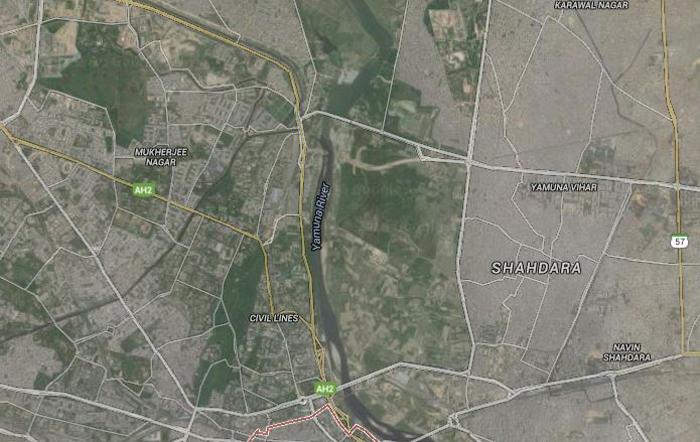 Delhi Yamuna River
