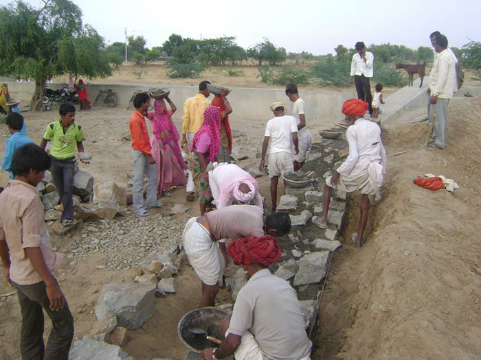 Rajasthan Daily Wage Worker