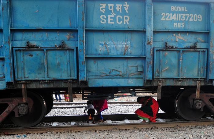 Indian Railway Crossing