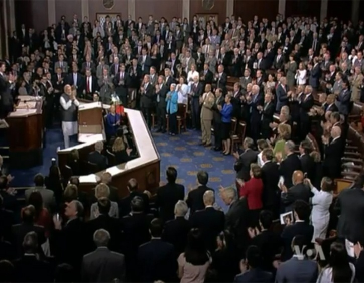 PM addressing joint meeting of U.S. Congress in Washington DC