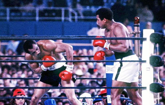 Muhammad Ali (right) vs Ken Norton