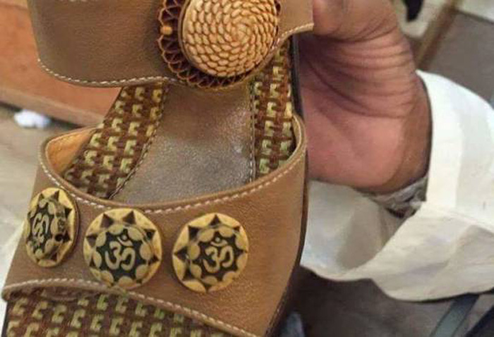 Sale Of Om Inscribed Shoes Anger Hindus Of Pakistan