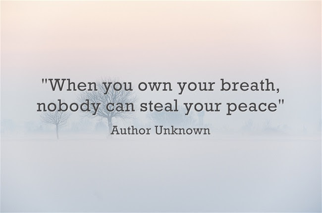 Happiness Mantras : Breathe!