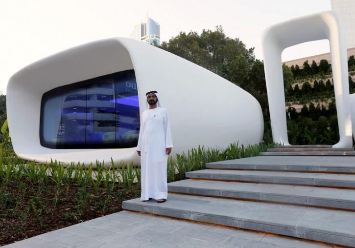 Saudi 3d printed office