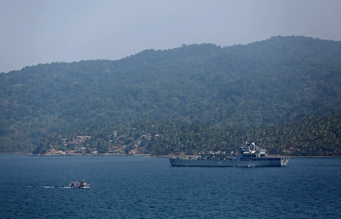 India Ramps Up Military Presence Across Island Territories