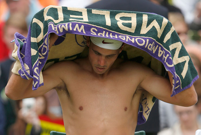 Indian Firm Manufactures Famous Wimbledon Towels