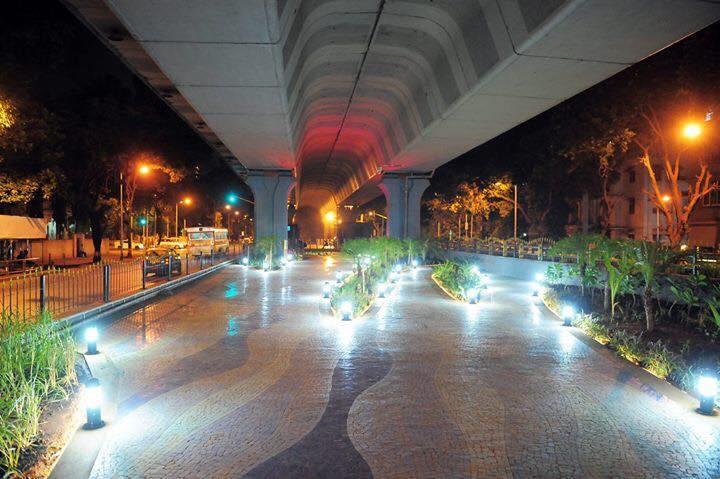 Matunga garden-under-flyover