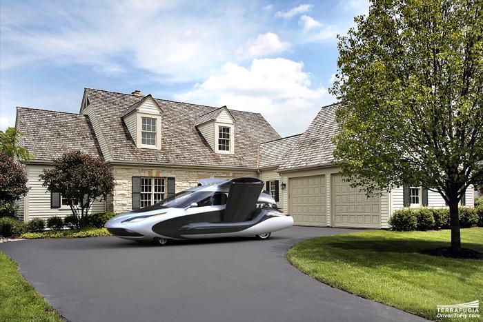 Terrafugia TF-X A Four-Seater Hybrid-Electric Flying Car