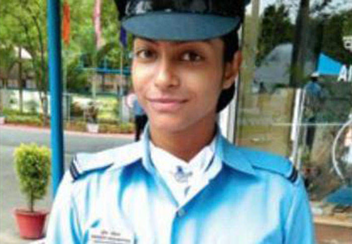 Giving Wings To Her Dreams Engineering Student From Ahmedabad Joins Air Force