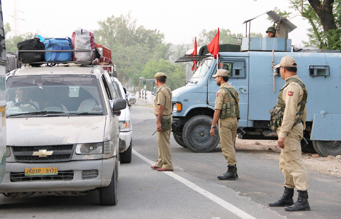 State government on alert as the Temple desecration may lead to communal tensions in Jammu