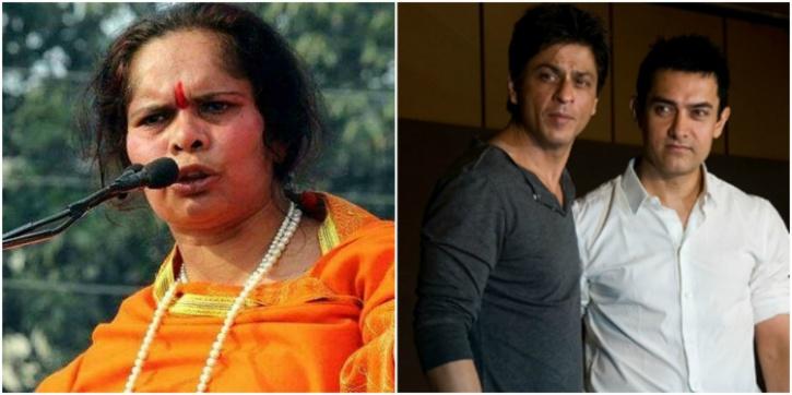 Prachi and Aamir-SRK
