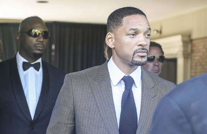 Will Smith at Muhammad Ali funeral Reuters