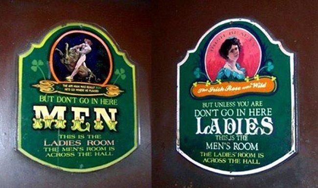 men/ladies