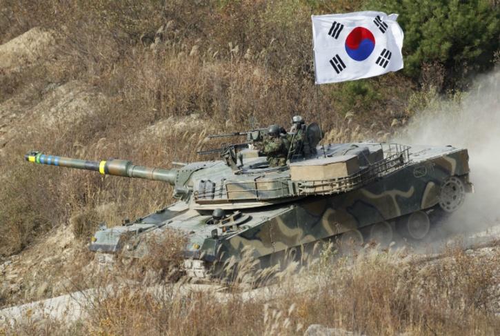 South korean tank