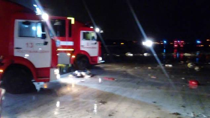 61 Killed As Plane Crashes During Landing In Russia
