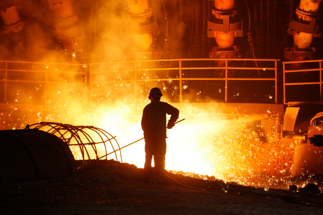 china steel sector