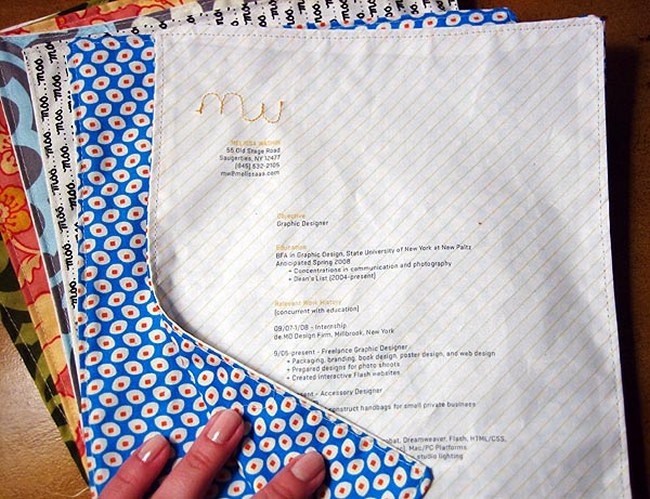sewn resume