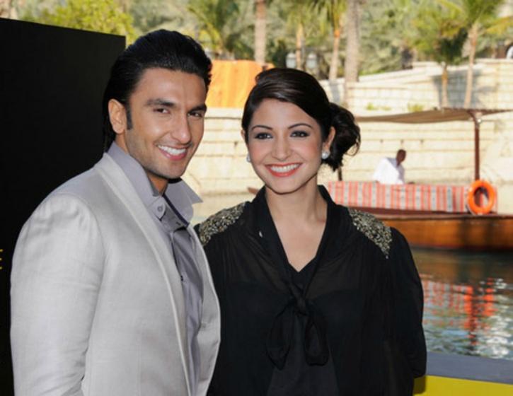 Ranveer and Anushka Sharma