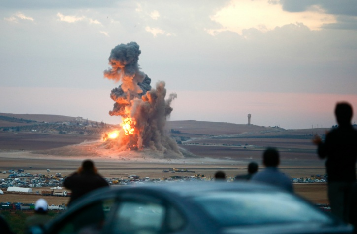 air strike syria bombing