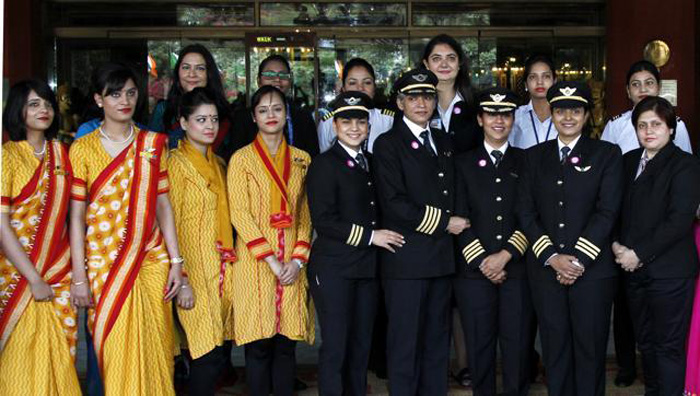 Air India To Have World's Longest All-Women Operated Flight On Women