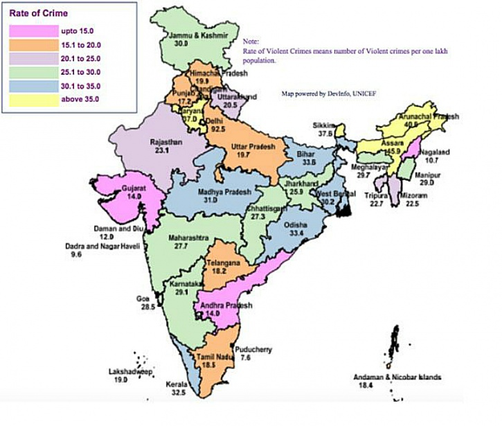 crime statistics india