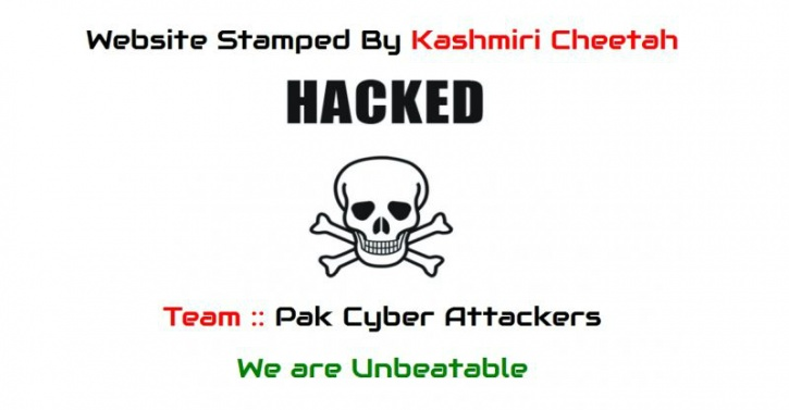 Hacked AIIMS site