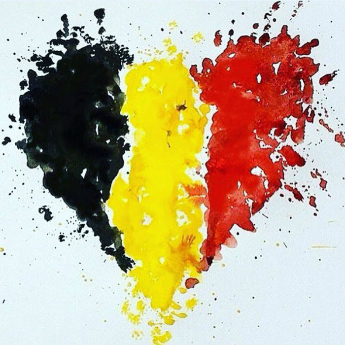 Artists Put Hope, Humanity And Heart Together To Condemn The Brussels Terror Attacks