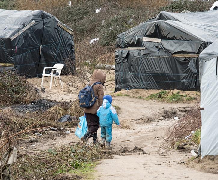 Calaise refugee camp rapes