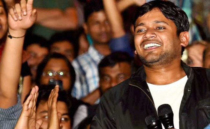 Kanhaiya Kumar Is Out Of Tihar Jail And Back In JNU. Watch His Speech Where He Takes On Modi, ABVP And Delhi Police