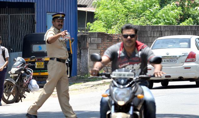 In The Kerala Town Of Kannapuram, Bikers  Can
