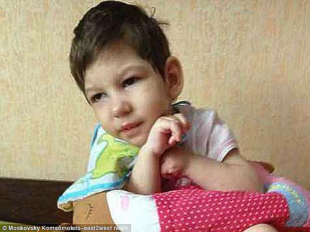 russian kid beheadd