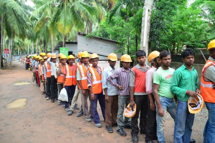 migrant labours in Kerala