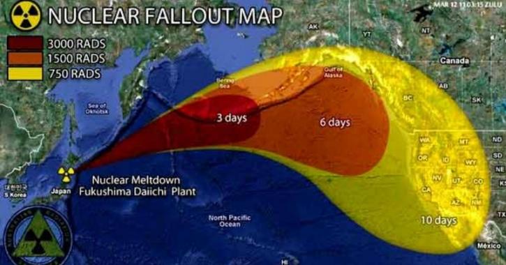 Radiation Map Fukushima