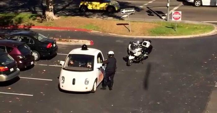 Google's Self Driving Car Rams Into Bus In California