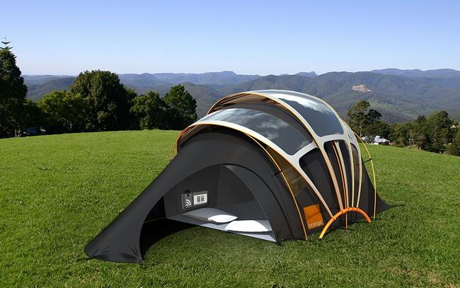 solar tents