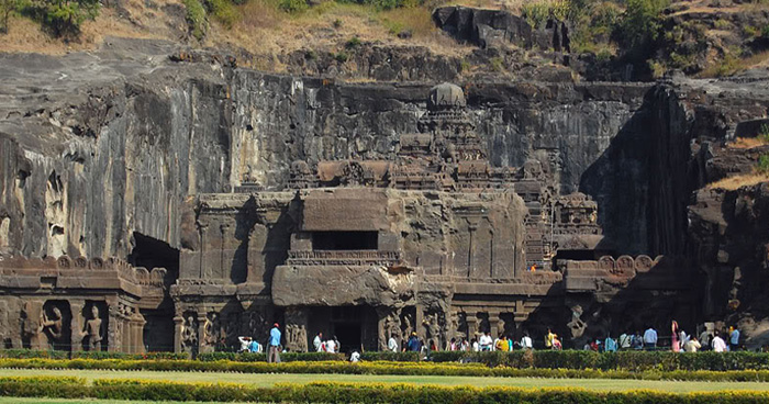 The Famous Ellora Caves From Decay For Centuries, It Is Actually Cannabis!