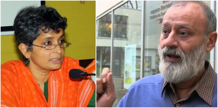 Nivedita Menon and Gauhar Raza