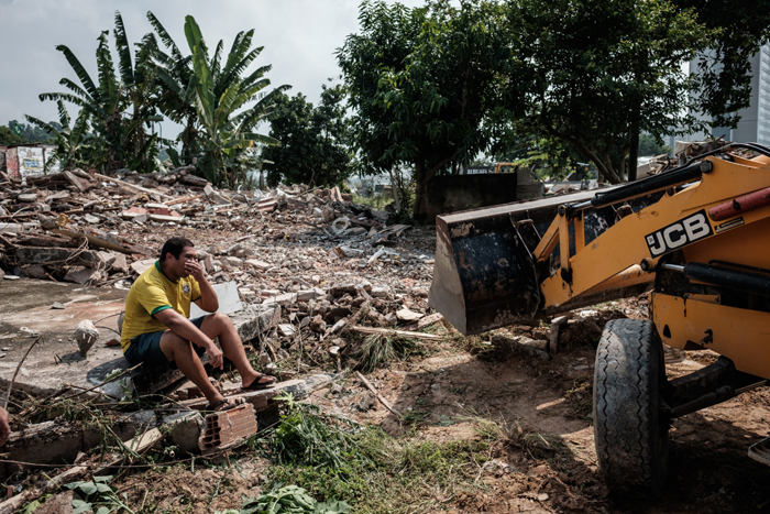 Demolition drive in Rio