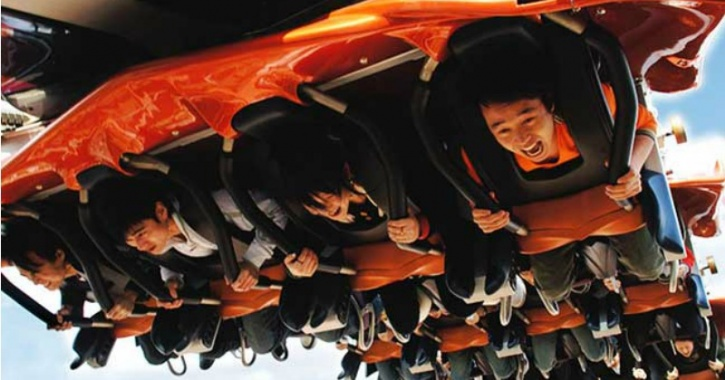 Roller coaster Beijing